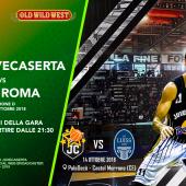 LNP Basket Serie B – girone D – Decò Juvecaserta vs. LUISS Roma
