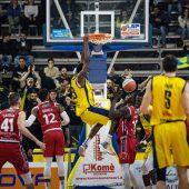 LNP Serie A2 Ovest – Palamangano inviolato: Scafati batte Tortona e conquista punti importanti