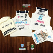 LBA – Final Eight 2020 : Road to Pesaro: la divisa di gara limited edition  Final Eight 2020 della Happy Casa Brindisi