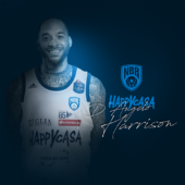 LBA – D'ANGELO HARRISON È LA NUOVA GUARDIA DELLA HAPPY CASA BRINDISI
